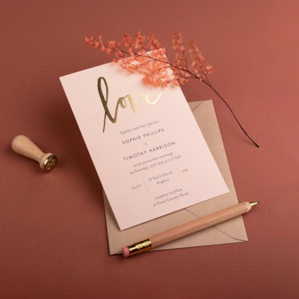 Einladungskarten für Hochzeit Text Ideen