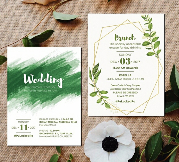 Einladungskarten für Hochzeit gestalten