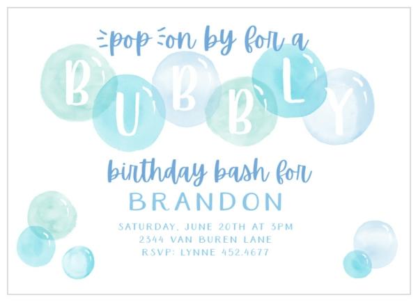 Einladungskarten gestalten Kindergeburtstag thematische Geburtstagsparty