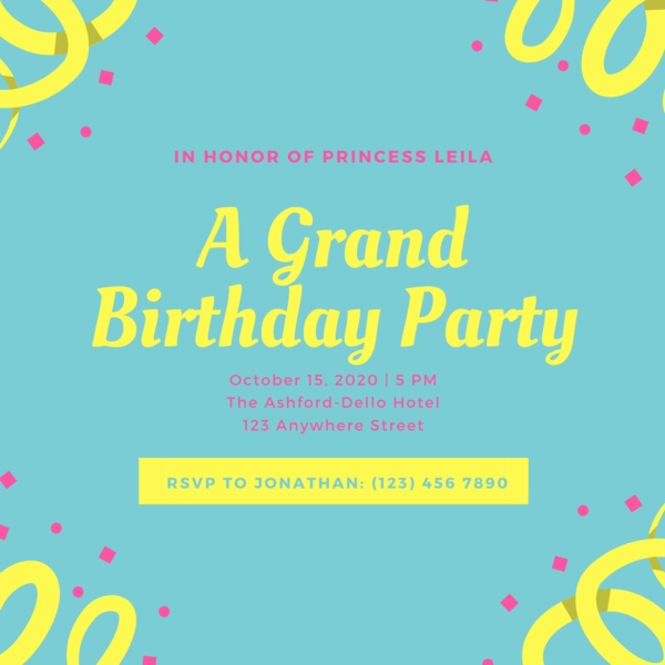 Einladungskarten gestalten und selber schreiben Kindergeburtstag Partyideen