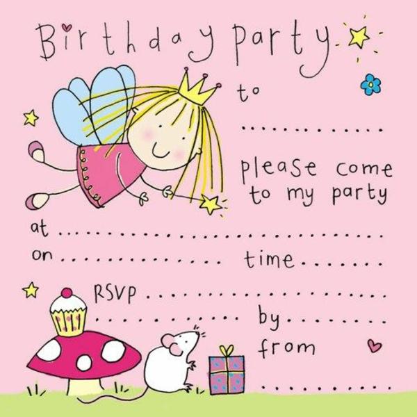 EinladungskartenKindergeburtstag Party Einladung Ideen