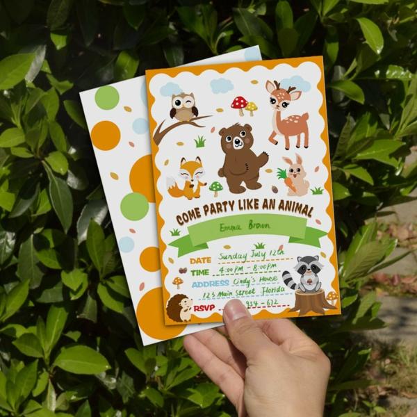 EinladungskartenKindergeburtstag Party Einladung schreiben Wortlaut Ideen