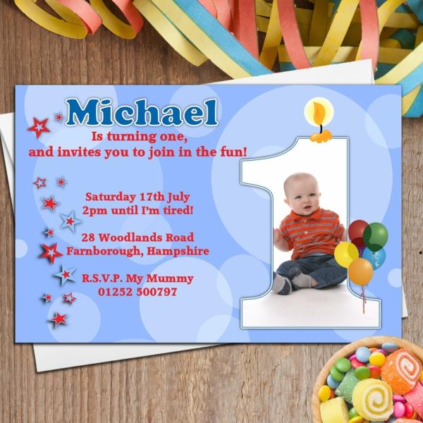 EinladungskartenKindergeburtstag Party Einladung