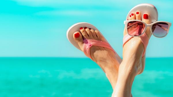 Fußpflege Fußpeeling selber machen Sommerurlaub