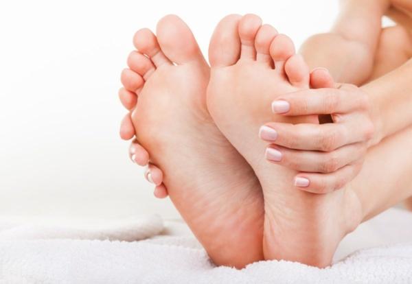 Fußpflege Fußpeeling selber machen