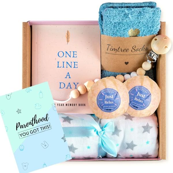 Geschenk für neue Mama Geschenkbox