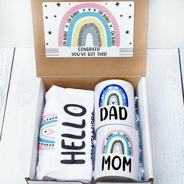 Geschenk für frischgebackene Mama Tassen für Eltern