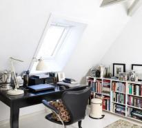 Gemütliches Heimbüro auf dem Dachboden – coole Gestaltungsideen für Romantiker