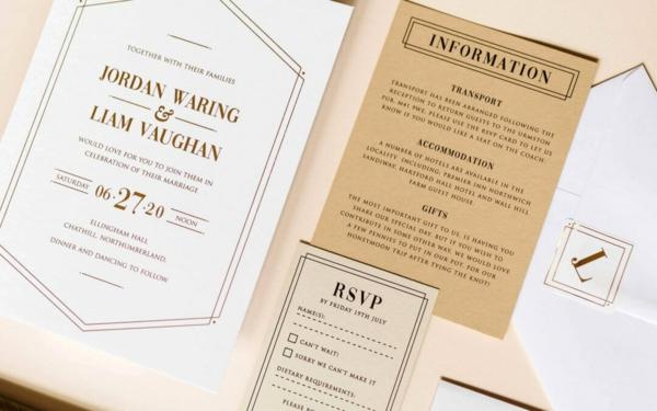 Ideen für Einladungskarten Hochzeit Text schreiben Richtlinien
