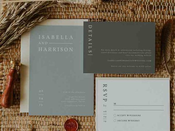 Ideen für Einladungskarten Hochzeit