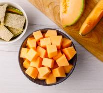Melonen Desserts schmecken herrlich frisch und fruchtig an heißen Sommertagen