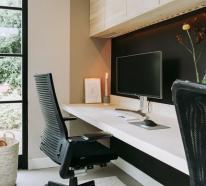 Minimalistisches Home-Office oder Ihr Platz für kreative Arbeit