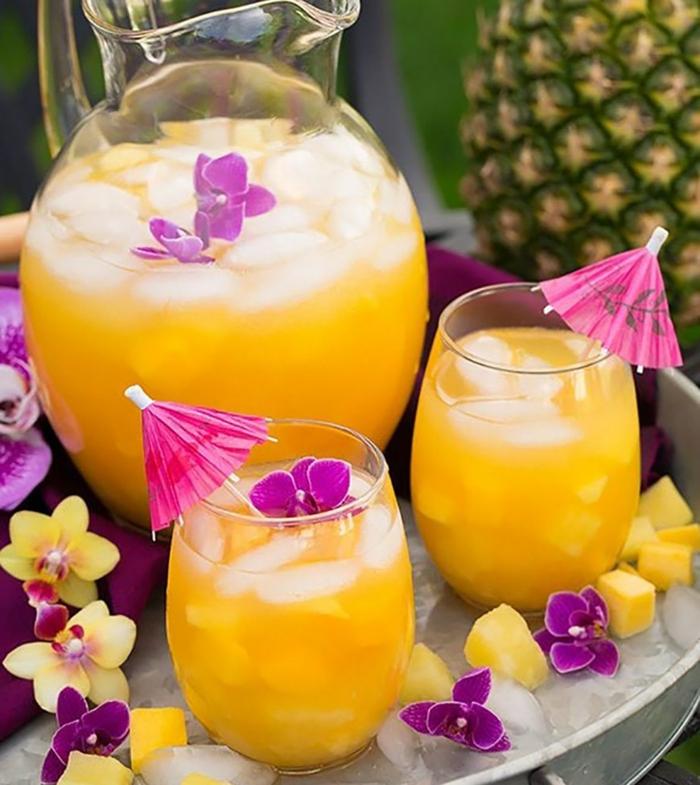 Mocktails Ideen 2021 mockteils rezepte frucht
