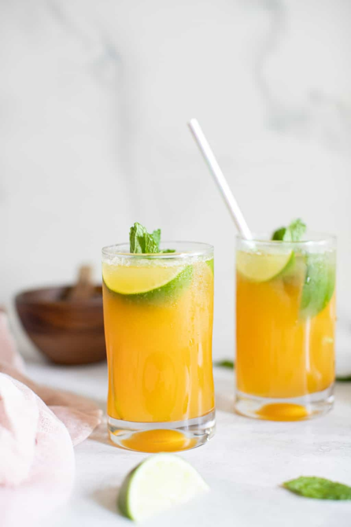 Sommergetränke Mocktails Ideen 2021 mockteils rezepte fruchtig