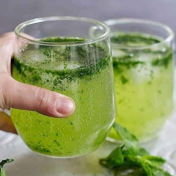 Sommergetränke Mocktails Ideen 2021 mockteils rezepte gruen