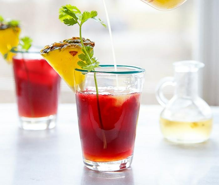 Sommergetränke Mocktails Ideen 2021 mockteils rezepte kräuter