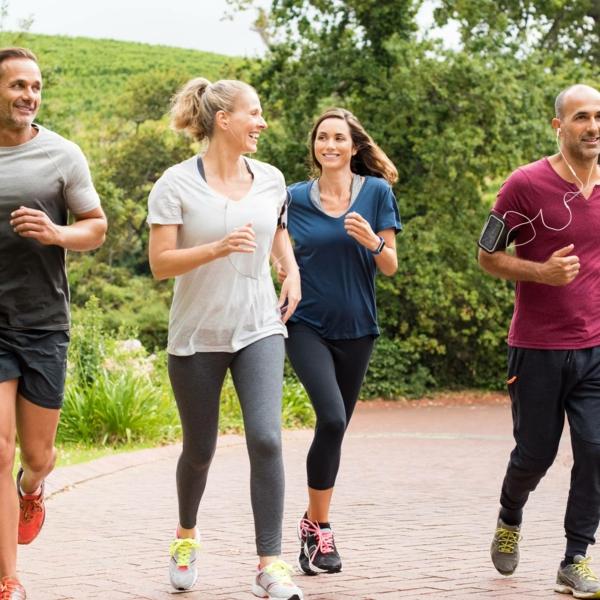 Slow Jogging Niko Niko Tempo Sport treiben für alle Altersgruppen