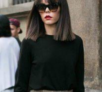 Stilvolle und schöne Frisuren für schulterlange Haare