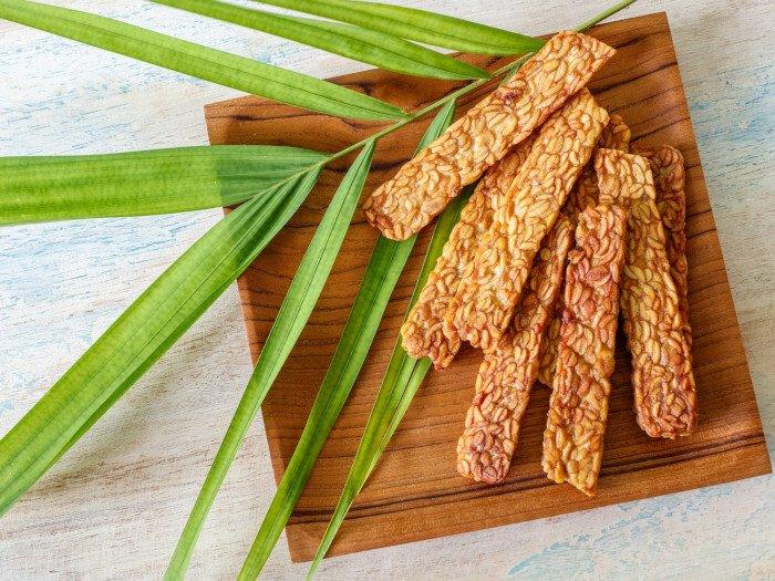 Tempeh Rezept sojabohnen gesund