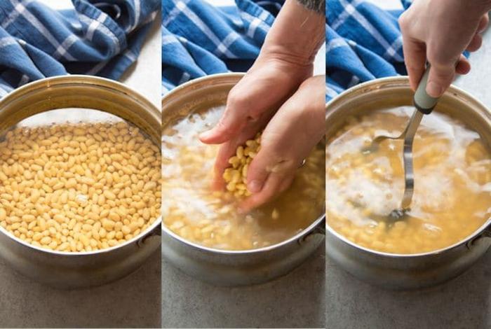 Tempeh Rezept sojabohnen wege der zubereitung