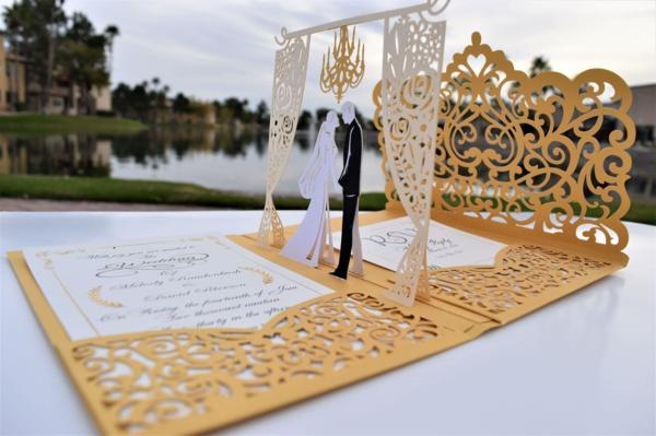 Was schreibt man auf Einladungskarten für Hochzeit Text