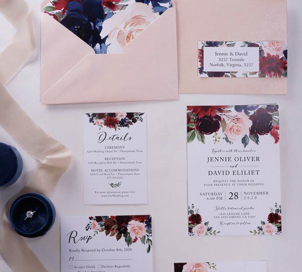 Was schreibt man auf Einladungskarten für Hochzeit Wortlaut