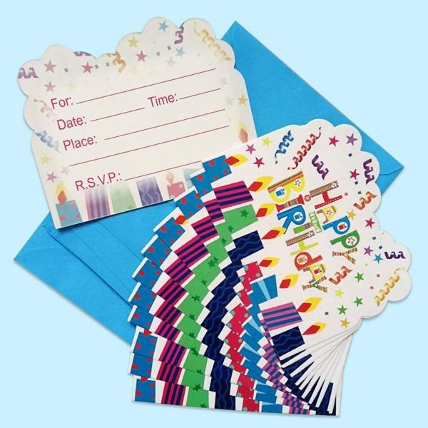Was schreibt man auf EinladungskartenKindergeburtstag Geburtstagsparty