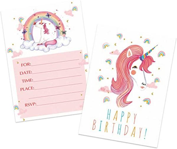 Was schreibt man auf Einladungskarten Kindergeburtstag feiern