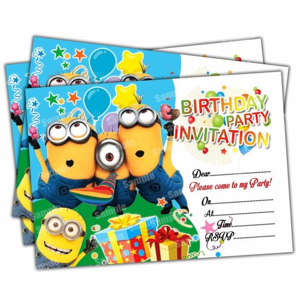 Was schreibt man auf Einladungskarten Kindergeburtstag thematisch veranstalten