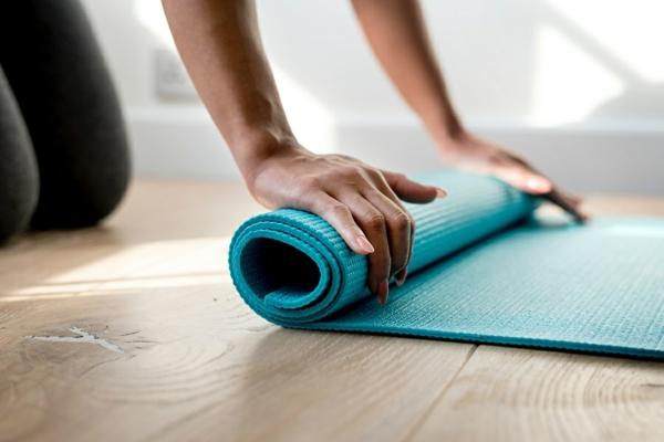 Rolling Yogamatten Reinigungsmittel selber machen