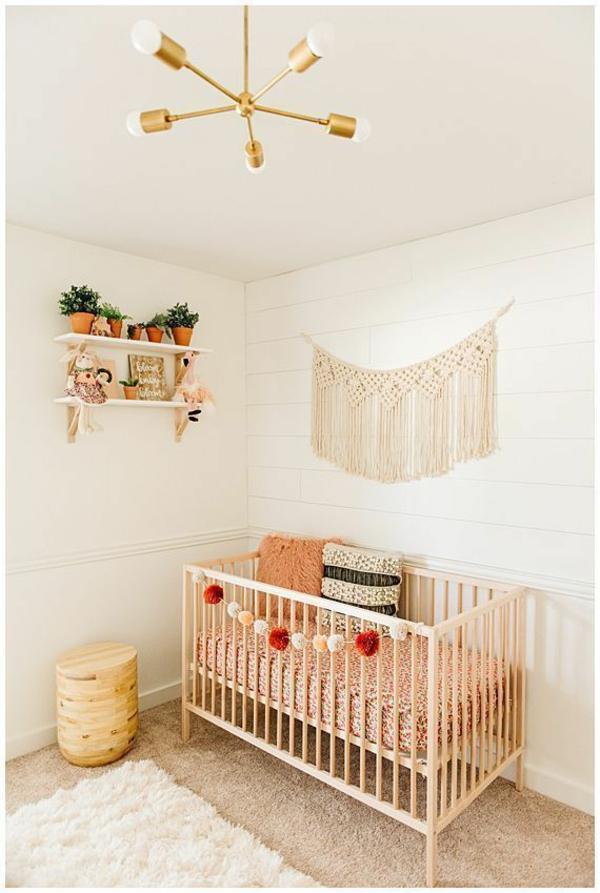babyzimmer einrichten makramee ideen