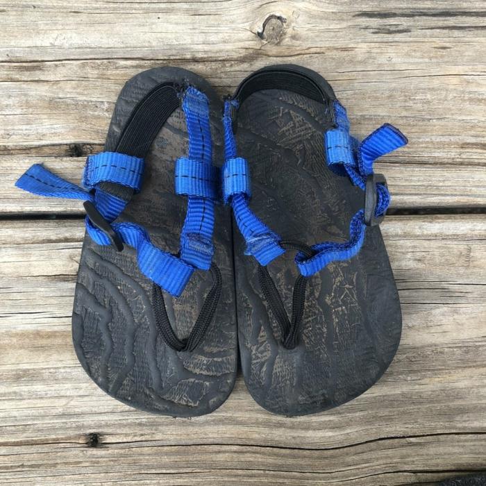 barfuß sandalen minimaler strand