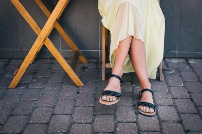 Barfußsandalen minimal und feminin
