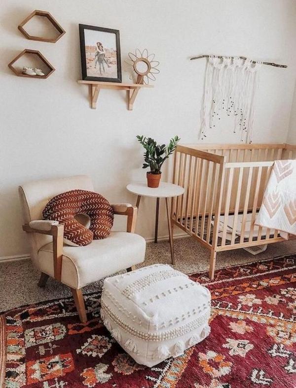 boho stil babyzimmer makramee wanddeko selber machen