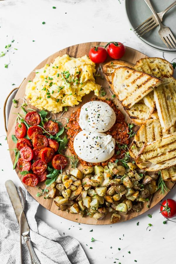 burrata rezept frühstück
