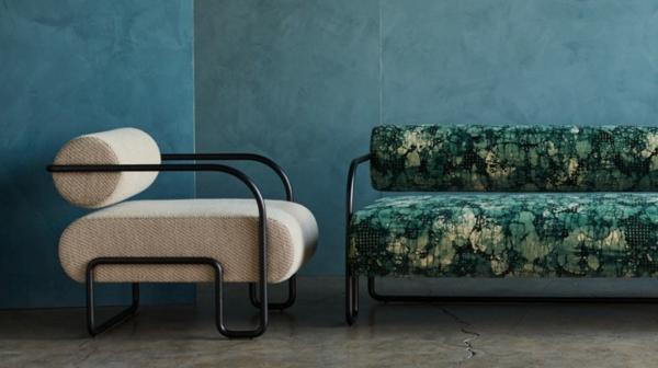 designer möbel bouclé trend