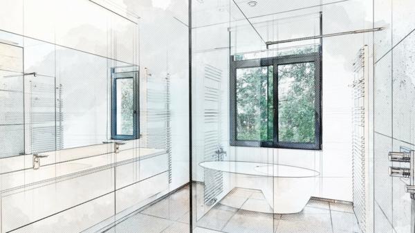 dusche einbauen und planen