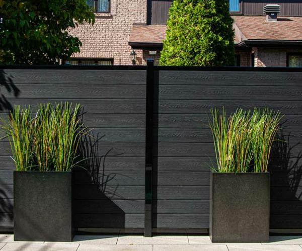 benefícios elegantes da cerca wpc