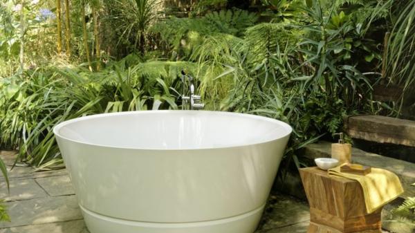 garten badewanne abkühlung