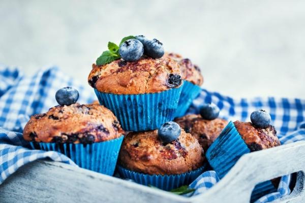 gesunde heidelbeer muffins rezept