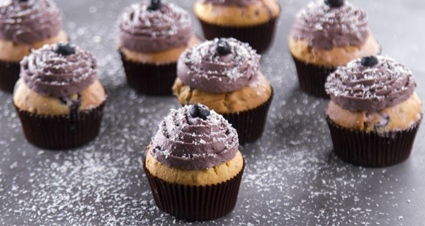 heidelbeer muffins mit schoko creme rezept