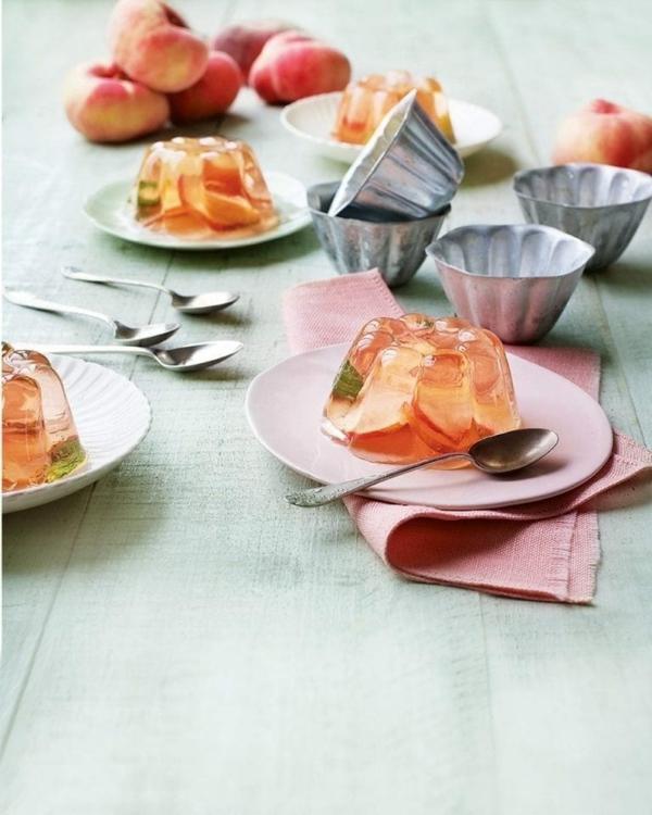 holunderblütengelee dessert selber machen