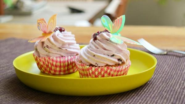 kindergeburtstagsparty blaubeer muffins zubereiten