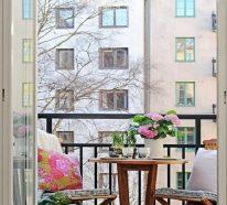 Kleiner Balkon Deko Ideen für eine tolle Outdoor-Oase