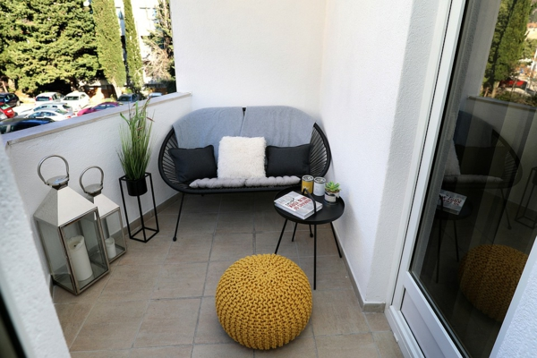 kleiner balkon deko ideen stilvolle dekoideen wohlfühlen