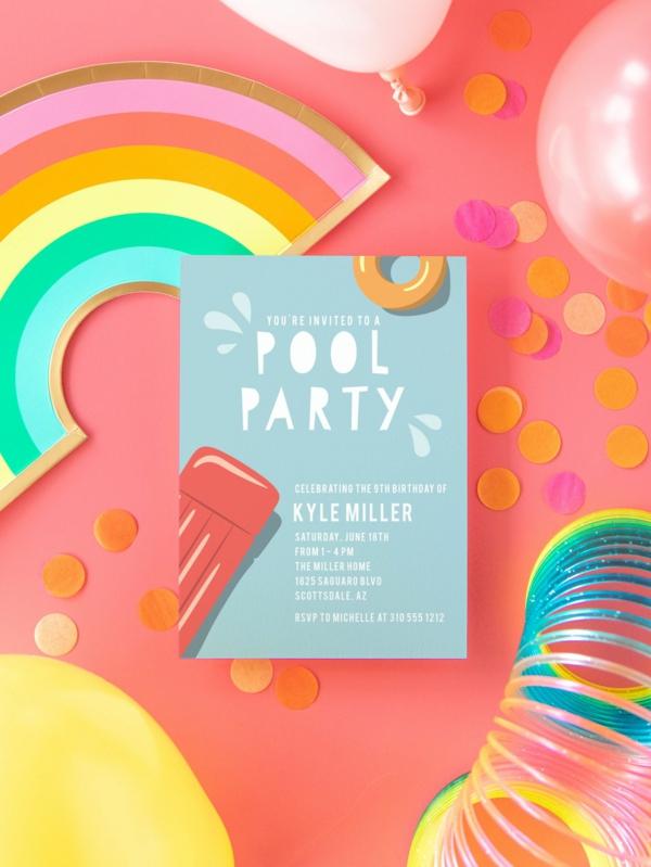 lustige EinladungskartenKindergeburtstag Party Einladung Ideen und Fotobeispiele