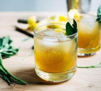 Salbei Sirup selber machen- gesunde Salbei Rezepte für jeden