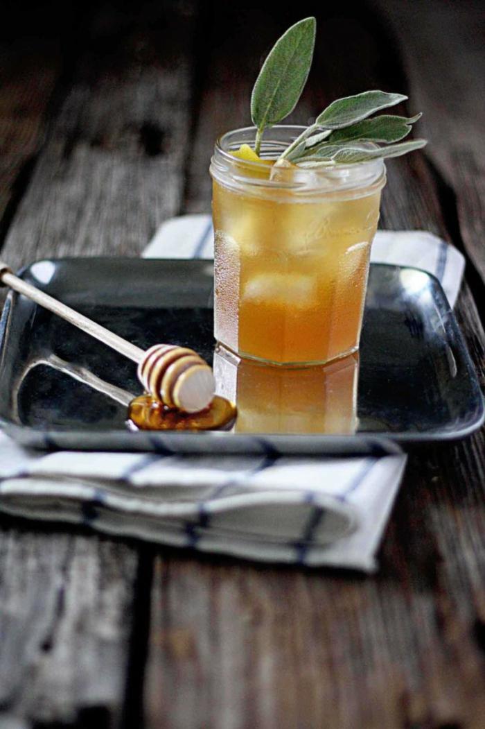 salbei sirup salbei rezepte selber machen honig