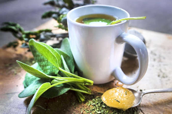 salbei sirup selber machen salbei rezepte selber machen trocknen tee