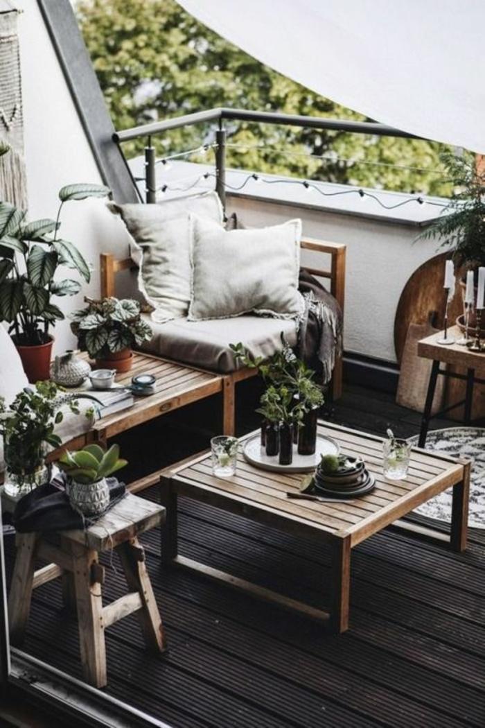 terrasse dekorieren outoddor deko mini